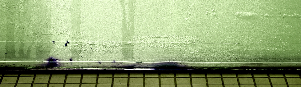 lekkage opsporen in de muur